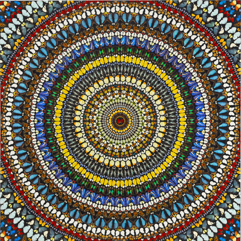 """Damien Hirst's """"Covenant"""" (2007). The artist's past works will be on display next month at Frieze New York and the Gagosian Gallery.jpg"""